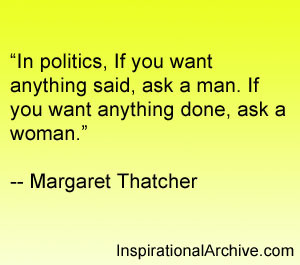 In politics if you, Quotes