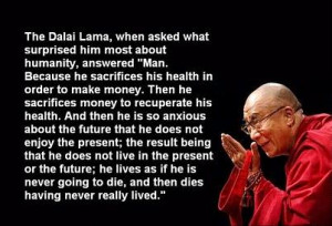 Dalai Lama quotes on Man