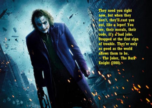 joker quotes and sayings