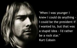 Kurt Cobain Tattoo Quotes
