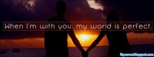 When, i, m, with, you, quote, couple, love, facebook, cover, fb ...