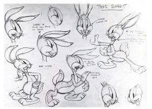 Tex Avery's Bugs Bunny -- click for complete board
