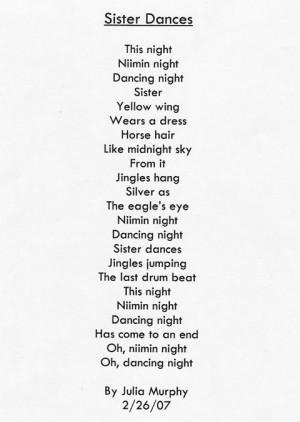 sister poem one poem one sister by