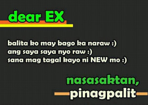 tagalog quotes for ex boyfriend quotesgram