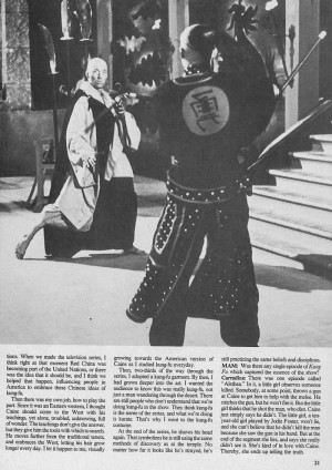 David Carradine Kung Fu Quotes Kung fu-david carradine(and