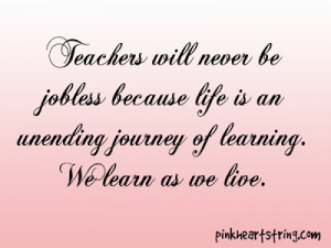 quotes for early childhood education teachers about learning teaching ...
