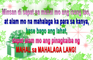 ... ako OO, ngayong nakita na kita - Tagalog Romantic Love Quotes by Erika