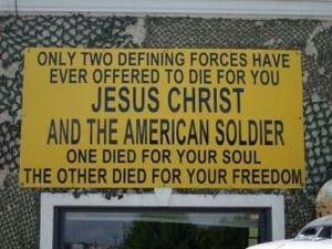 Military Sacrifices and the Way of Jesus