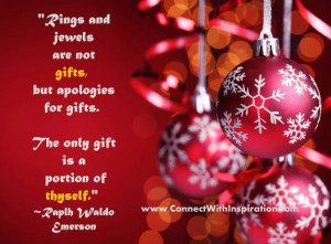 Christmas: Ring And Jewels Are Not True Gifts