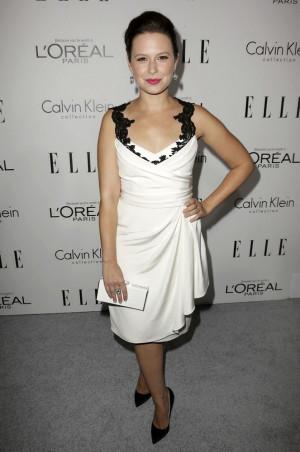 Katie Lowes Elle Women Television Celebration Hollywood