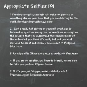Selfie Quotes The other day i saw a selfie