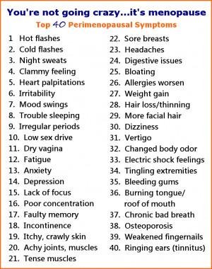 ... need hormones to relieve menopausal symptoms. You need antioxidants