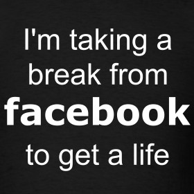 Design ~ Taking a break from facebook