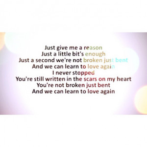 Love Changes Shape, GG's IG Quote