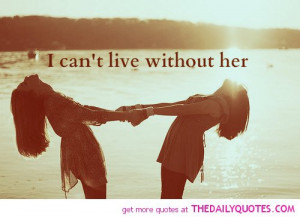 Can't Live Without Her