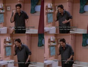 Ross Friends Quotes Ross geller ross geller
