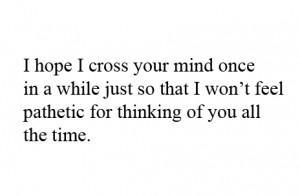 soupir #i wish i'd never met you