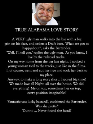 true alabama love story - some funny stuff
