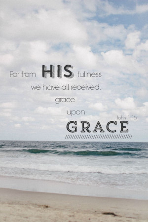 Quote . Ocean . Bible verse . Quote about grace . Travel . Scenery ...