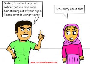 Hijab Cartoon Images Credited