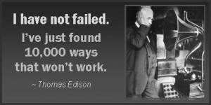 Famous Quotes by Thomas A. Edison
