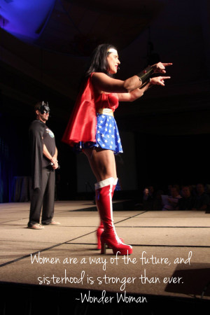 Is the Unstoppable Momma Wonder Woman?