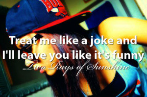 funny, girl, girl swag, hair, hat, joke, love, make up, quote, quotes ...