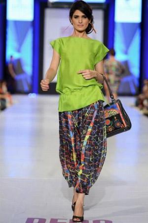 PFDC Yasir Waheed Collection Model Nadia Ali