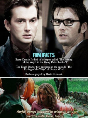 """When two worlds collide. Doctor Who and Harry Potter – """"The ..."""