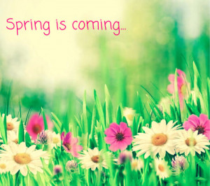 Spring Is Coming Quotes Spring is coming