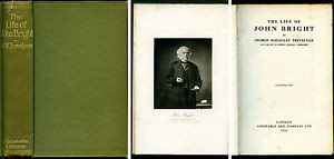 The Life of John Bright G M Trevelyan Constable 1913 1st Edition 20