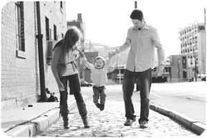 family-portrait-black-and-white