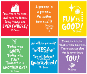 Free Printable Dr Seuss Quotes