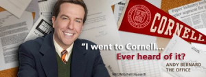 Cornell warms up to alumnus Andy Bernard By Adweek Blogs
