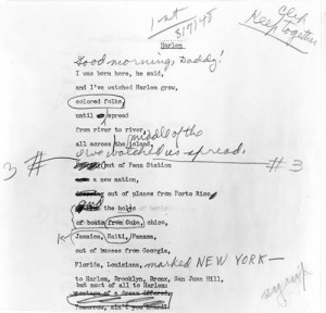 More like this: langston hughes , poems and image .