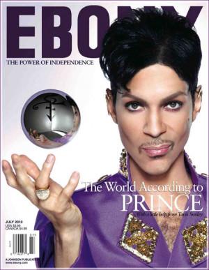Prince está na capa da edição de julho da revista americana