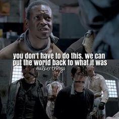 ... Gareth at twd season 5 trailer | The Walking Dead quotes Dead Quotes