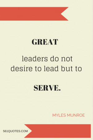 Trapped in every follower is a leader.