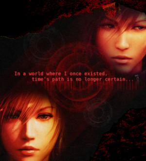 ... final fantasy xiii # final fantasy xiii-2 # lightning farron # quotes