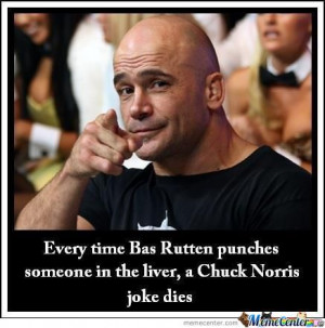 Bas Rutten Funny bas rutten's ultimate lethal