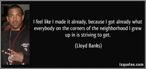 More Lloyd Banks Quotes