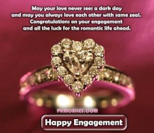 newly engagement couple greetings quotes best newly engagement couple ...