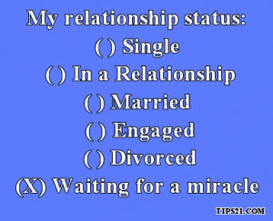Facebook Relationship Status Quotes