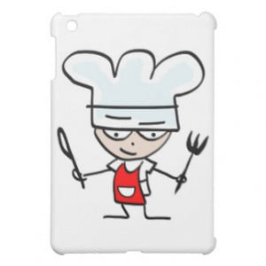 Cooking gifts with funny cartoon - Humorous design iPad Mini Case