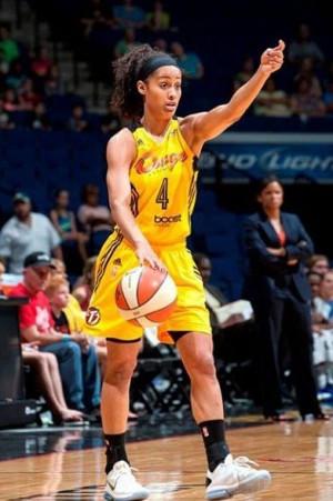 My current favorite WNBA player Skylar Diggins