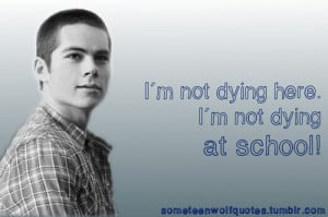 Stiles Stilinski, Night School (1.7)
