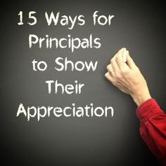 ... 15 simple ways principals can recognize teachers throughout the year