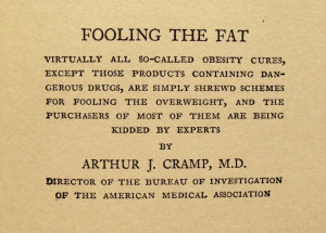 Visionary Quotes from 1929 Obesity Textbook - On Quackery.