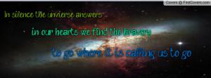 universe quote Profile Facebook Covers