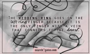 Wedding Ring Quotes